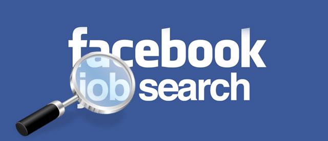 Resultado de imagem para JOBS ON FACEBOOK