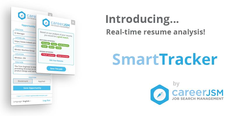 SmartTracker: Real-Time Resume Analysis - CareerJSM